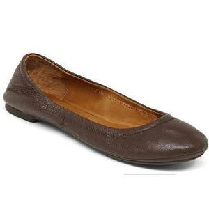 LUCKY BRAND Emmie Flats Brown size 9